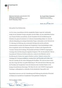 Steinmeier-Brief