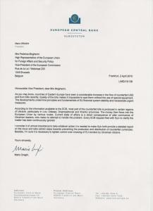 Mario Draghi - Federica Mogherini
