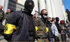 Neonazis in Kiew