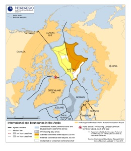 Arktis Grenzen
