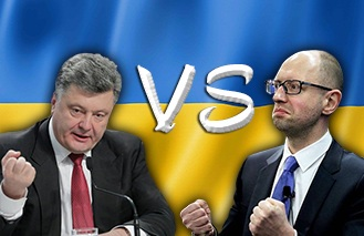 Poroschenko vs Jazenjuk