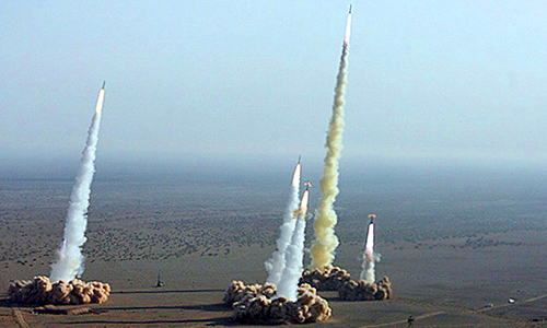 Raketenschild