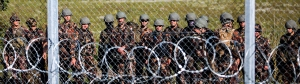 Grenzübergang zu Serbien geschlossen